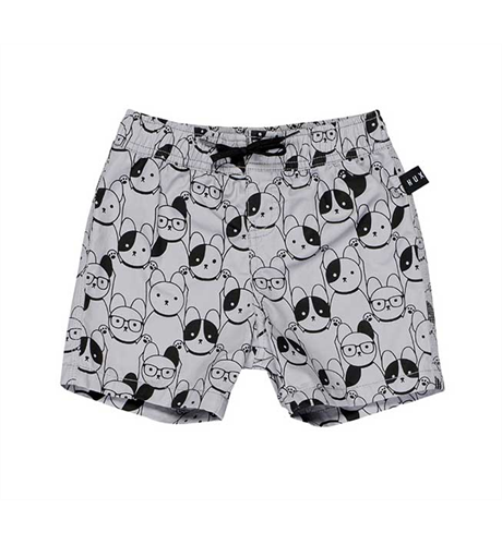 Swim Short-Light Grey