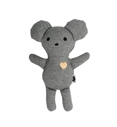Huxbaby Mouse Toy - Charcoal