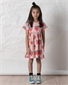 Littlehorn Strawberries Dress - Muted Pink