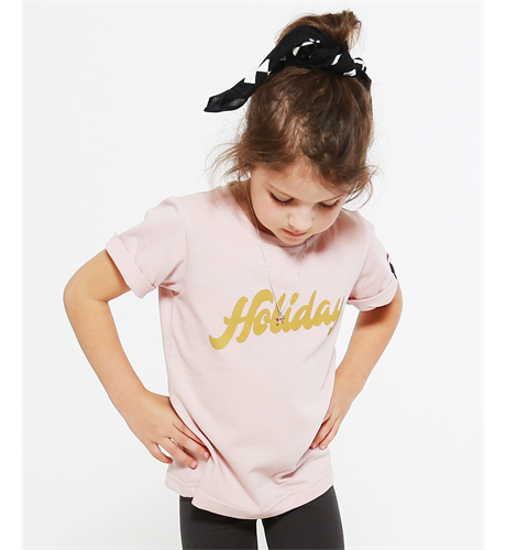 Pop Factory Holiday Tee - Pink