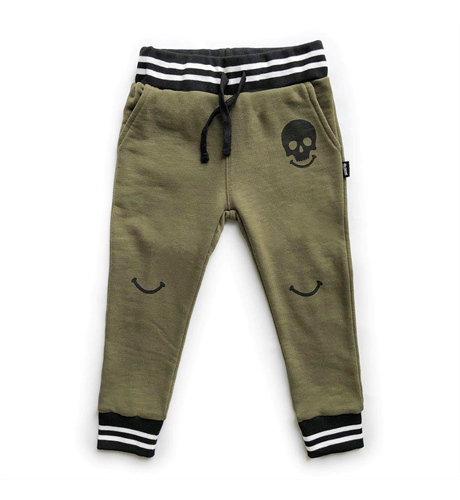 Pop Factory All Smiles Trackies - Khaki