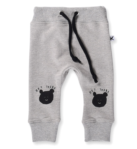 Minti Baby Hey There Trackies - Grey Marle