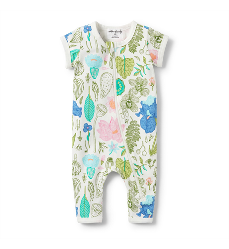 Wilson & Frenchy Flora Short Sleeve Zipsuit