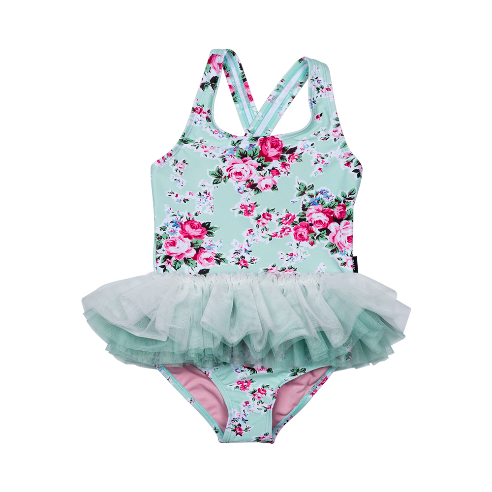 03746fec67b6b Rock Your Kid Mint Maeve Tulle One Piece - CLOTHING-SWIMWEAR : Kid Republic  - S18/19 Rock Your Kid D5