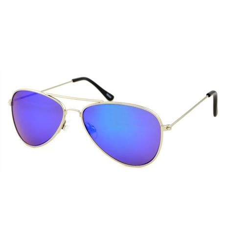 Unity Kids Silver Aviator Sunglasses