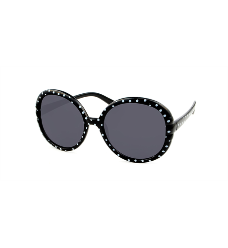 Unity Kids Black Polka Dots Sunglasses