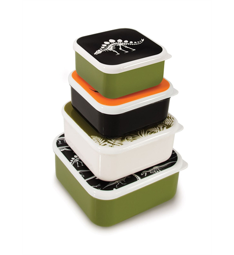 Dinosaur Nesting Lunch Boxes