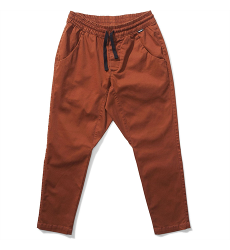 Munster Ranch Twill Pant - Rust