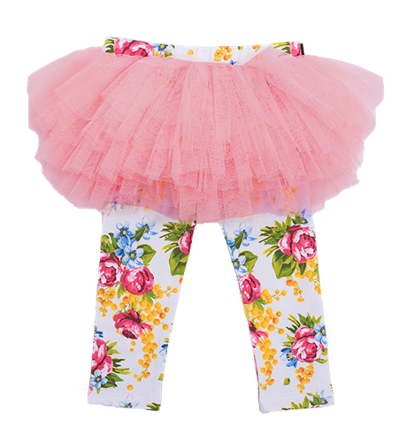 Rock Your Baby Winter Magic Circus Tights