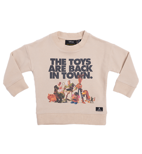 Rock Your Kid The Toys Are Back Sweatshirt
