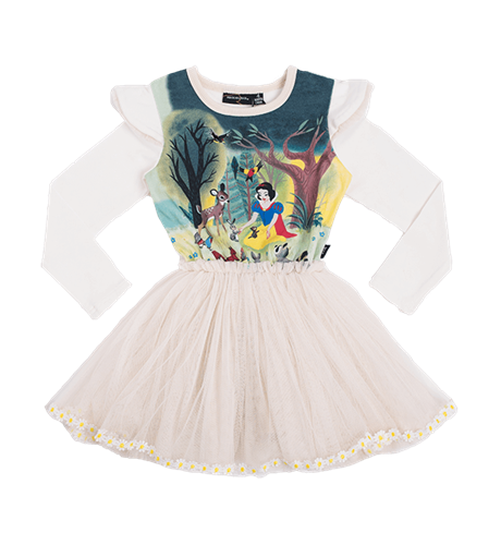 Rock Your Kid Snow White And Friends Circus Dress