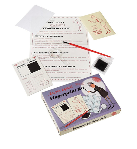 Secret Agent Finger Print Set