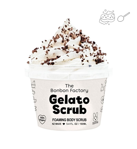 Bonbon Factory Soft Serve Gelato Scrub