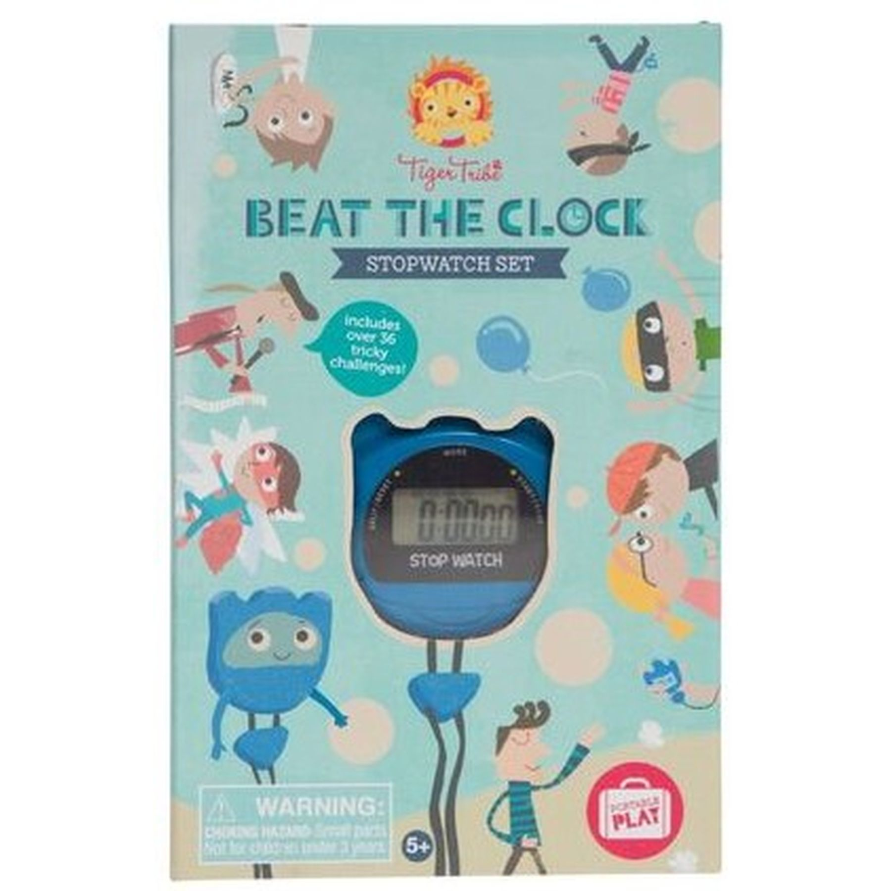 Tiger Tribe Beat The Clock Stopwatch Set - PLAY-Art & Craft : Kid