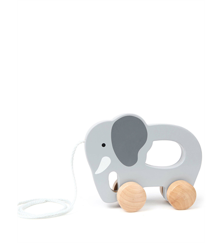 Wooden Pull toy Elelphant