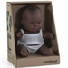 Miniland Doll African Girl - 21cm (Boxed)