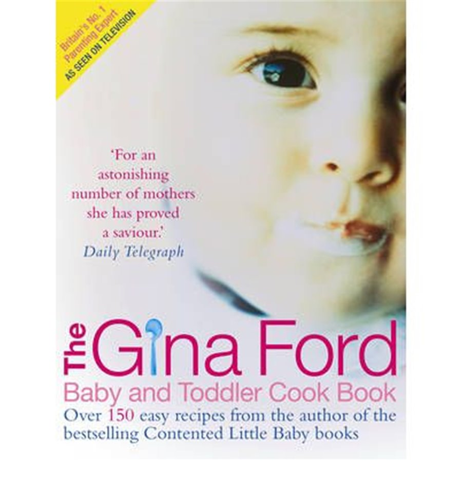 Gina Ford - Baby Toddler & Cookbook - NURSERY-Parents Books