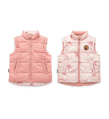 Crywolf Reversible Vest - Campfire Rose