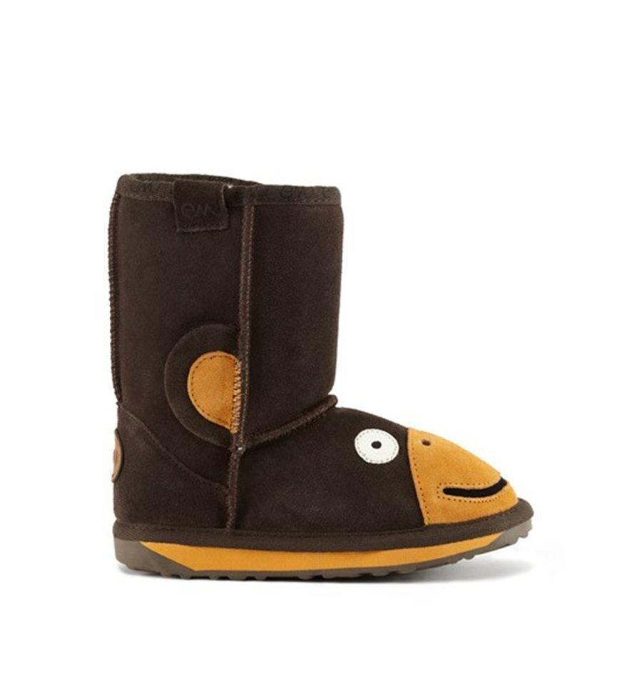 d45f499fd82 EMU Little Creatures Kids Boot - Monkey - FOOTWEAR-Boy : Kid ...