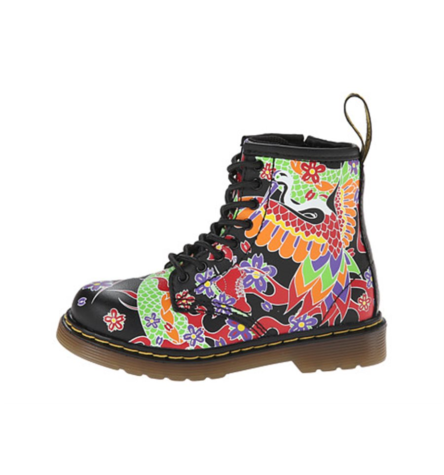 Dr Martens Delaney Boot Psycho Tattoo Footwear Boy Kid