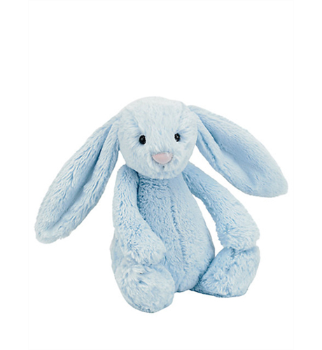 Jelly Cat Bashful Bunny Pale Blue Med