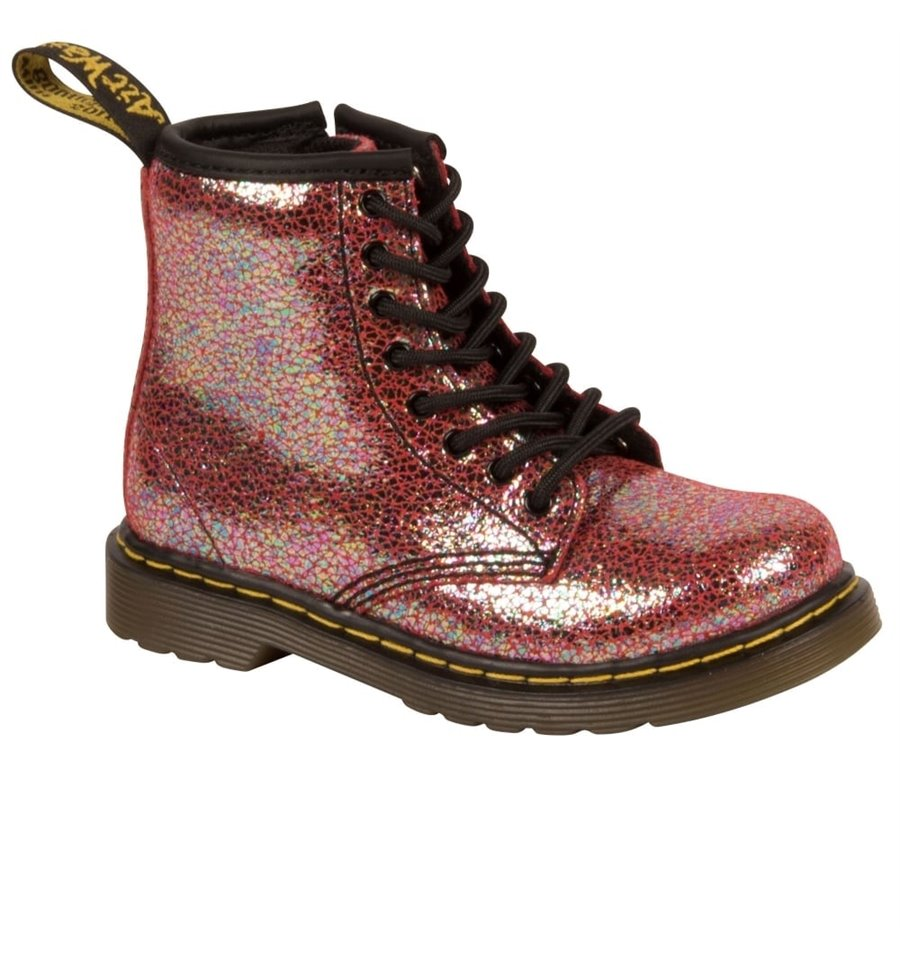 best outlet online undefeated x Dr Martens Brooklee Boot Pink Shimmer - FOOTWEAR-Girl : Kid ...
