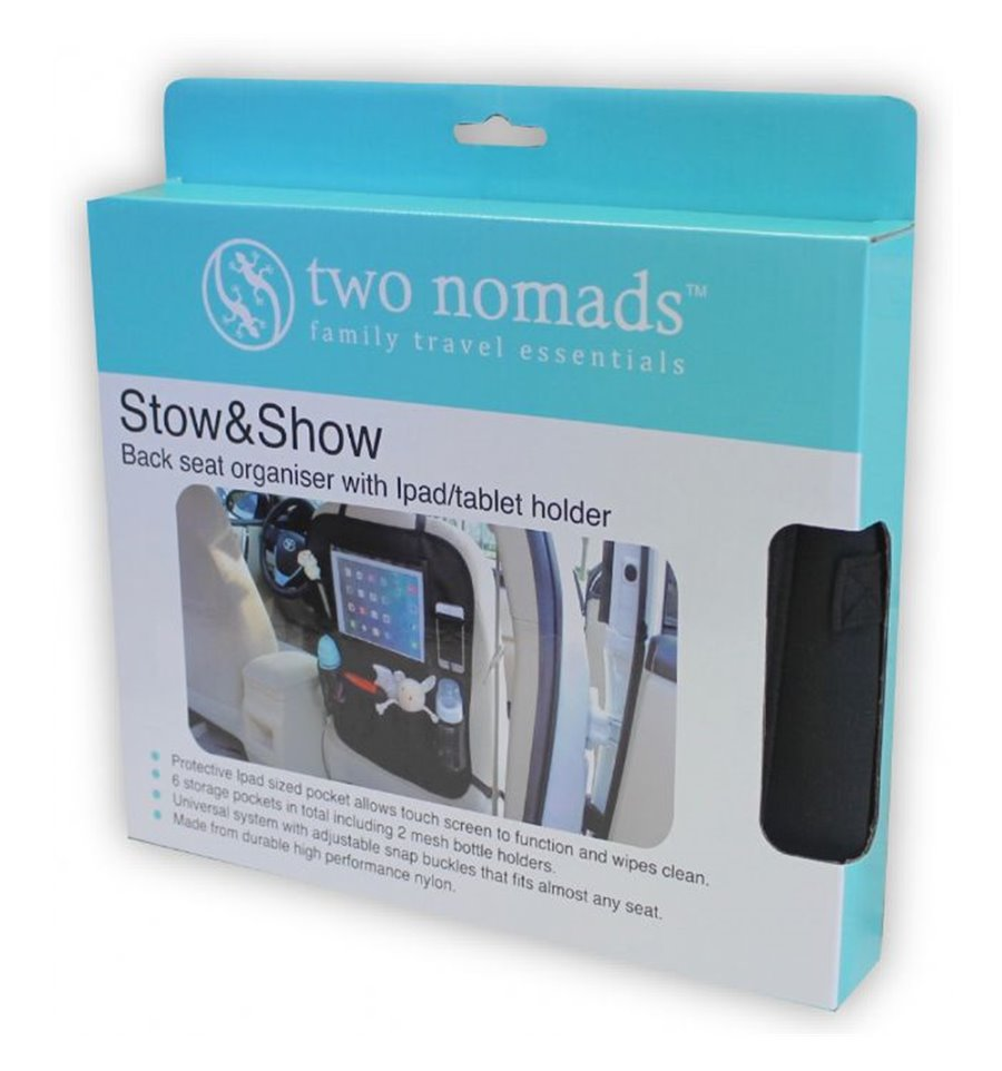 Two Nomads Stow & Show - OUT & ABOUT-Carseat Accessories