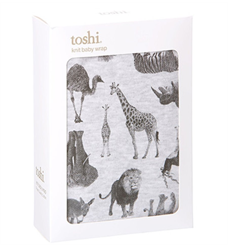 Toshi Cotton Knit Wrap Zoo